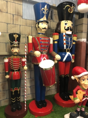 Toy Soldier with Drum 9ft JR 140110