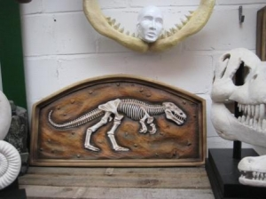 T Rex Fossil in Frame 3ft (JR 2532)