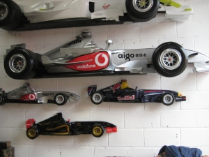 Racing Car Wall Decor - McLaren 9ft (JR DF6332M)