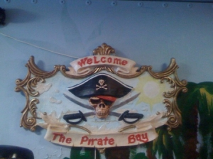 Sign Pirates Bay Double Sided (JR FSC1131)
