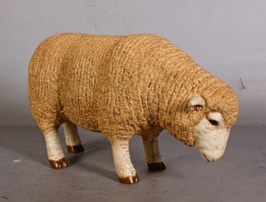 Merino Sheep head down - Small (JR 110125)