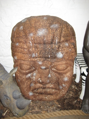 "Olmec Head 44"" (JR 100082)"
