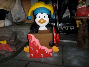 Penguin with Box (JR SN)