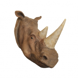 RHINO HEAD (WALL MOUNTED) - JR R-031