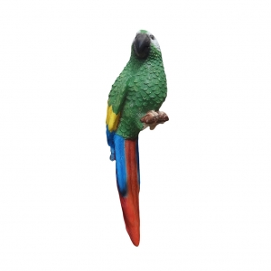 PARROT SITTING - GREEN - JR R-036G