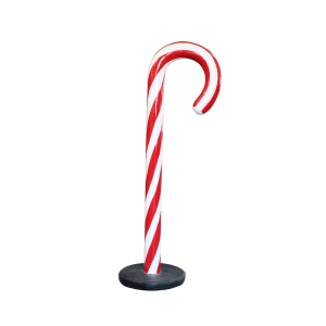 MINI CANDY CANE WITH BASE - JR S-115