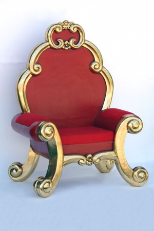 Santa Chair - Red (JR PB05)