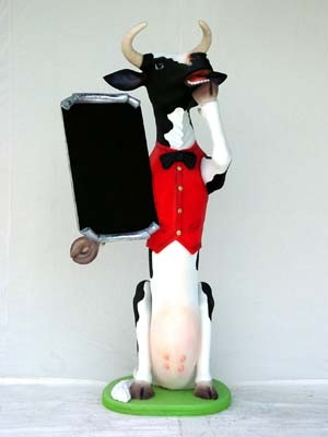 Skinny Cow Butler with Menu-Board 5.5ft (JR 1773)