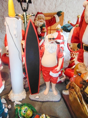 Santa with Surfboard (JR DN)