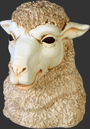 Merino Sheep Head 2 (JR 110045)