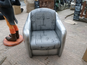 Chair - Silver Airplane (JR 5093)