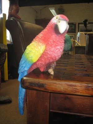 Sitting Parrot - Red (JR R-036)