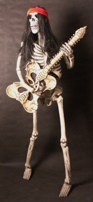 Skeleton Band - Bass Player 5.5ft (JR CA146 )