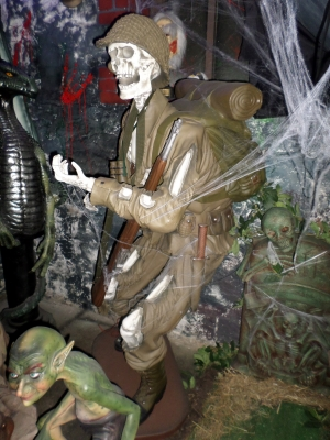 Skeleton Soldier 6ft (JR 2264)