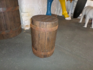 Stool - Wood Effect (JR 140049W)