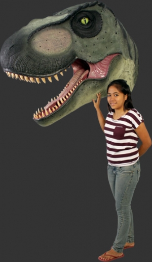 Giant T Rex Head (JR 110106)