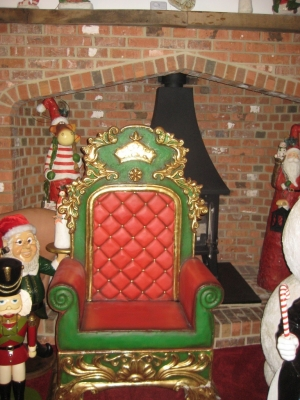 Father Christmas Throne large (JR 2455)