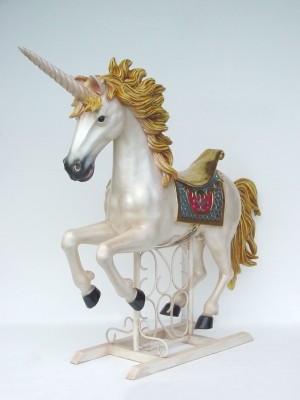 Unicorn on Metal Base (JR 2226)