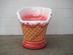 Ice Cream Chair - Strawberry (JR 130020S)