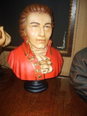 Mozart Bust 1.5ft  (JR 2351)