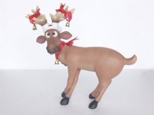 Funny Reindeer standing on crossed legs (JR 2318)