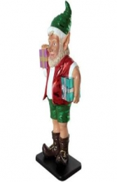 Elf with Two Gifts 3ft (JR 100009)