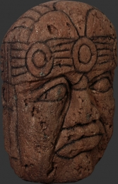 "Olmec Head 60"" (JR 100083)"