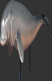 Dugong on metal stand (JR 100128) - Thumbnail 01