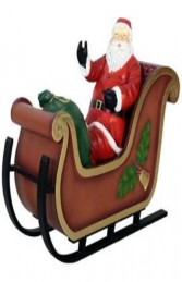 SANTA ON SLEIGH - JR 110004S - Thumbnail 02