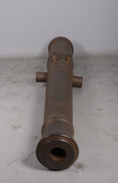 "Cannon from Spainish Warship ""Seville"" 1778 -rusty JR 110109R - Thumbnail 03"
