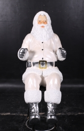 Santa Claus 4ft- white (JR 120025w) - Thumbnail 02