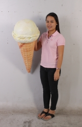 Hanging Ice Cream Small - Vanilla 3ft (JR 130018v) - Thumbnail 03
