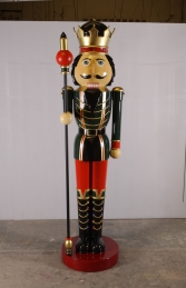 Nutcracker 12ft with Sceptre - Right Hand (JR 130091GR)