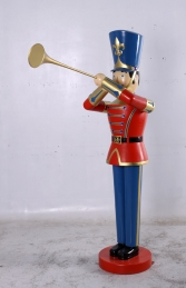 Toy Soldier with Trumpet 6ft (JR 140007) - Thumbnail 01