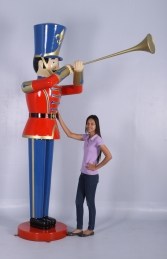 Toy Soldier with Trumpet 9ft (JR 140008) - Thumbnail 01