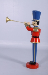 Toy Soldier with Trumpet 4ft (JR 140009) - Thumbnail 02