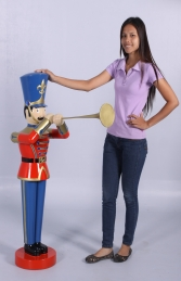 Toy Soldier with Trumpet 4ft (JR 140009) - Thumbnail 01