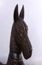 Great Dane looking right -Bronze - JR 140047 - Thumbnail 03