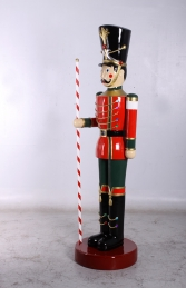 Toy Soldier with Baton 6.5ft - Red & Green (JR 140109G) - Thumbnail 02