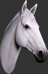 Horse Head - White (JR 150090w)