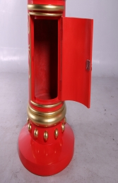 RED AND GOLD DETAIL MAILBOX - JR 150239 - Thumbnail 03