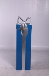 JR 150240 PRESENT BLUE WITH SILVER RIBBON - Thumbnail 02