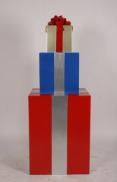 JR 150405RBG GIFT STACK RED, BLUE AND GOLD - Thumbnail 01
