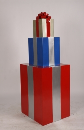 JR 150405RBG GIFT STACK RED, BLUE AND GOLD - Thumbnail 03