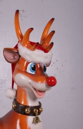 REINDEER FUNNY ON STAND - JR 160252 - Thumbnail 02