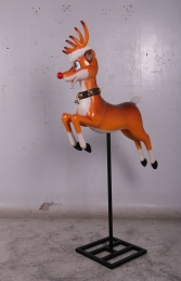 REINDEER FUNNY ON STAND - JR 160252 - Thumbnail 03