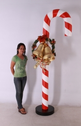 Candy Cane with decoration (JR 160701) - Thumbnail 01
