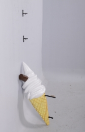 HANGING ICE CREAM SMALL WITH FLAKE - PLAIN JR 170052P  - Thumbnail 03