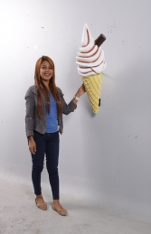 Hanging Ice Cream Small - Chocolate 3ft (JR 170052c) - Thumbnail 01