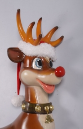 Funny Reindeer Wall Decor -JR 170109 - Thumbnail 03